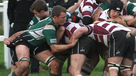 Sidmouth Chiefs took on Cleve. Picture by Alex Walton. Ref shsp 0089-50-13AW. To order your copy of