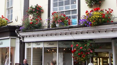 Fields department store of Sidmouth. Picture by Alex Walton. Ref shs 1374-36-11AW. To order your cop