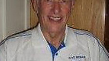 David Bromage, the Sidmouth badminton player who was part of the succesful Over-70s team