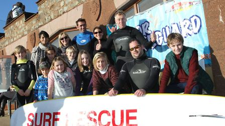 Sidmouth Junior Surf Life Saving Club held an open day on on Boxing Day in their new pemises at the
