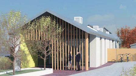 Artist impressions of the new day hospice for East Devon.