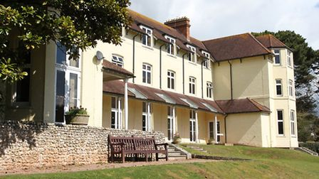 The EDDC's current offices at The Knowle in Sidmouth.