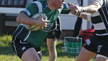 Sidmouth 2nds at home to Torquay. Photo by Terry Ife. Ref shsp 2815-12-14TI To order your copy of th