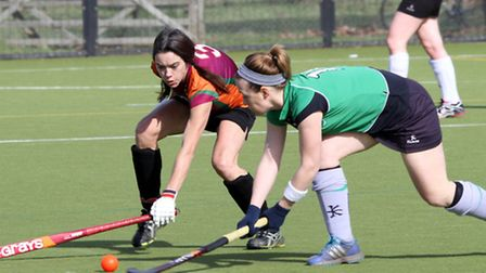 Sidmouth Ladies 1st hockey team took on Redland UWE at the weekend. Picture by Alex Walton. Ref shsp