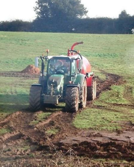 Work was carried out on land to the rear of Kind Alfred Way.