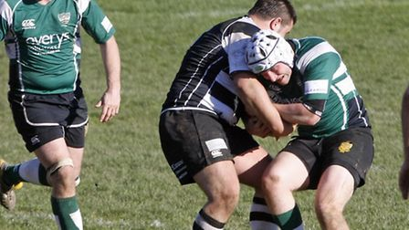Sidmouth 2nds at home to Torquay. Photo by Terry Ife. Ref shsp 2845-12-14TI To order your copy of th