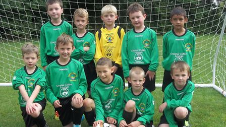 The Sidmouth Warriors Under-8s team