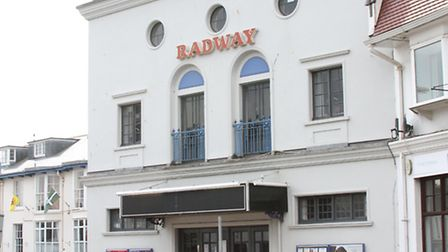 The Radway cinema in Sidmouth. Photo by Simon Horn. Ref shs 7344-13-14SH To order your copy of this