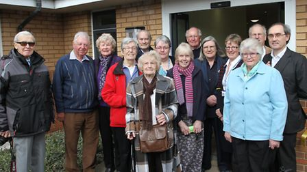 Members of the League of Friends are pictured at Ottery St Mary hospital on the occasion of the open