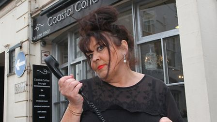 Where's My Line? Jill Harris of the Coastal Coffee Lounge has been without a BT phone line for two m