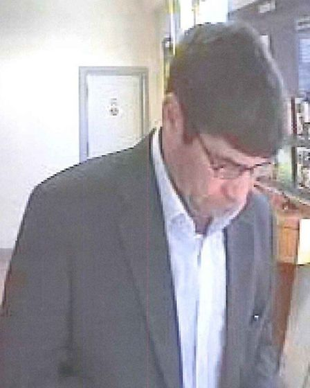 The fraudster stuck in Sidmouth on August 20 last year