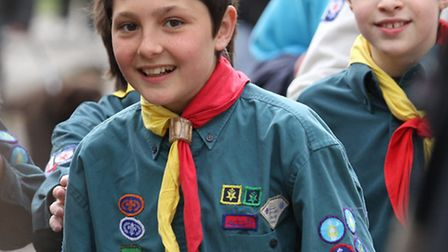 St George's Day Parade. Photo by Simon Horn. Ref shs 0747-18-14SH To order your copy of this photogr