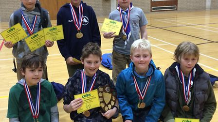 Dougal Hastie, Adam Dunford, Oliver Beech, Ryan Cozens, Henry Rousseau, Charlie Williams and Luke Wh