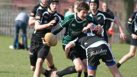 Sidmouth U14s versus Exeter Chiefs