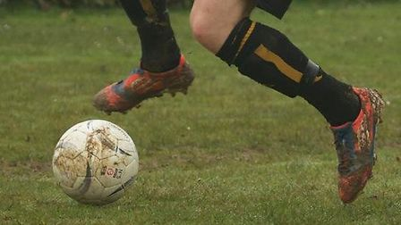 Axminster Town versus Crediton United action