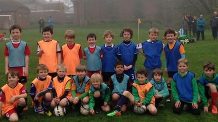 Sidmouth Under-8s Raiders and Warriors