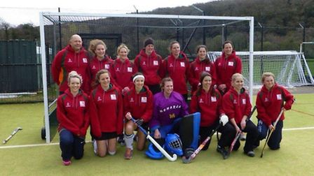 The SOHC Ladies 1st XI who were beaten finalists in the Devon Cup