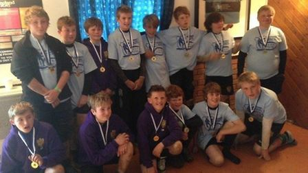 Sidmouth Under-12s at the Weymouth Festival