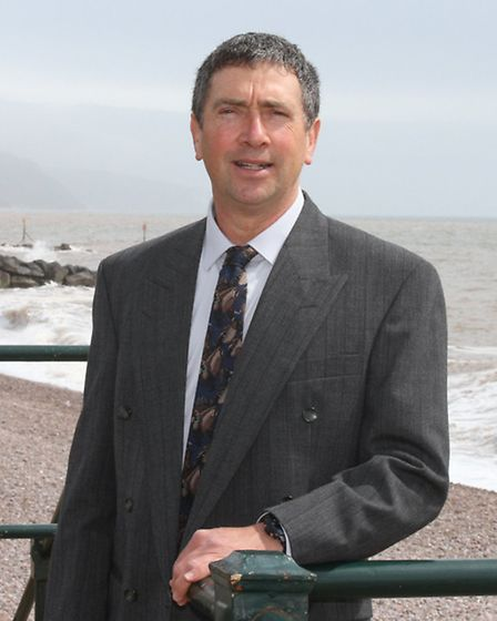 Sidmouth Citizen of the Year-Barry Morton. Photo by Simon Horn. Ref shs 0304-17-14SH To order your c