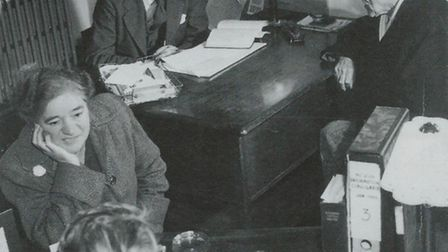 Citizens Advice service in the early days.
