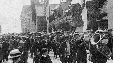 The Beer 2014 hopes to recreate the Royal Naval Reserves' march away from the village