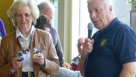 Chicks that were auctioned off raised nearly £2,000