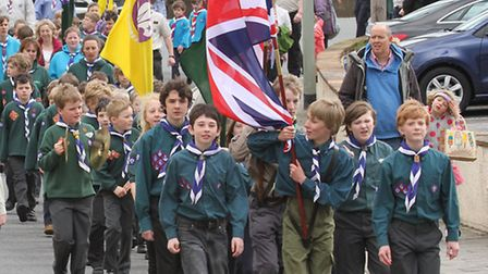 St George's Day Parade. Photo by Simon Horn. Ref shs 0704-18-14SH To order your copy of this photogr