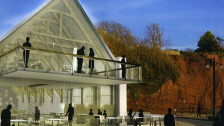 An aspiration for Sidmouth's Drill Hall. Image by Alex Vick.