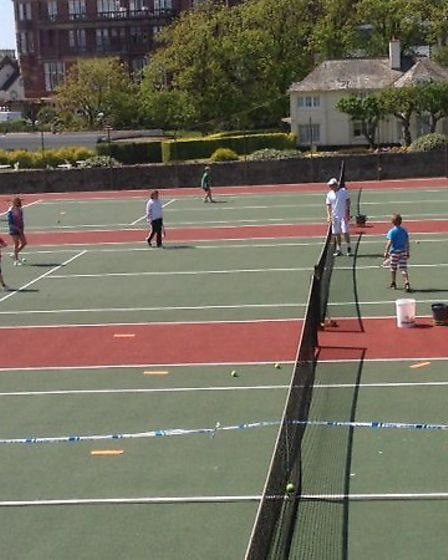 The 2014 Sidmouth Tennis Club Open Day