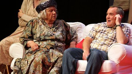 Sidmouth Amateur Dramatic Society present Straight & Narrow. Photo by Terry Ife. Ref shs 1151-24-14T