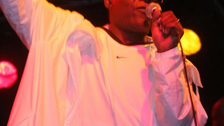 Caribbean Night returns to Sidmouth in 2010.The Real Thing take to the stage.; Picture by Terry Ife