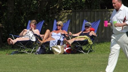 Time for drinks at Ottery 2nds against Ipplepen. Photo by Terry Ife. Ref shsp 0098-21-14TI To order