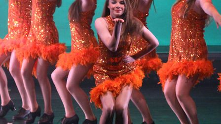 The Finch School of Dance and their latest production, Don't Stop the Music at the Sidmouth Manor Pa