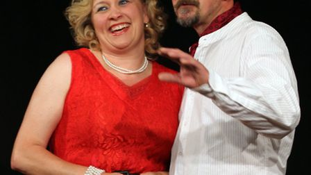 The New Ottregians in rehearsals for their forthcoming production of Kiss Me Kate. Picture by Alex W