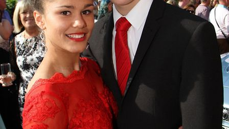 The King's School year 11 prom was held at Woodbury Park on Saturday evening. Picture by Alex Walton