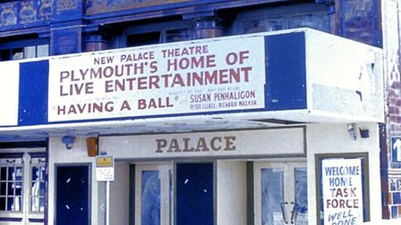 From Graham Cooper's urban art collection - Plymouth's New Palace Theatre