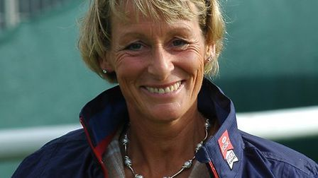 Olympic equestrian Mary King MBE