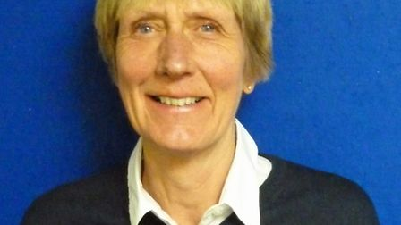 Sidmouth lady captain Liz Chance