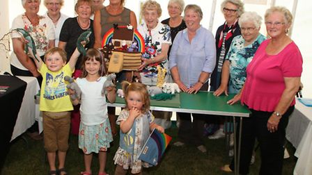 The Sid Valley Horticultural Society held their annual garden and craft show on Saturday, August 16.