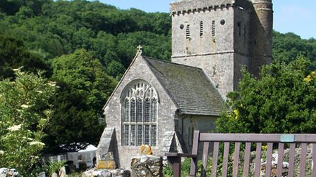 Branscombe church. Picture by Alex Walton. Ref shb 5806-26-13AW. To order your copy of this photogra