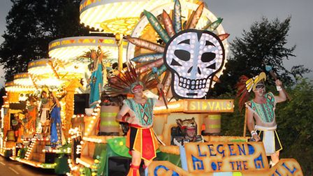 Sid vale CC at last years carnival. Ref shs 0318-40-13SH. Picture: Simon Horn