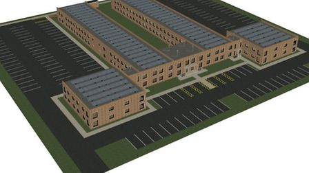 A 3D model of Keith's plans for the new EDDC offices