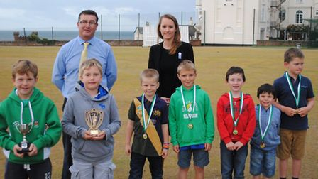 Sidmouth CC Colts Awards: The Under-10 award winners