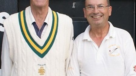 David O'Higgins (779 wickets to date in his club career for Tipton St John and Phil Wright (724 club