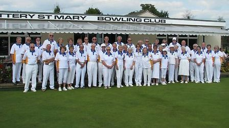 Ottery St Mary bowlers