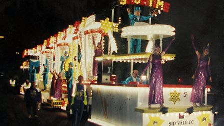 Showtime float from 2000. Ref shs Sid carnival showtime. Picture: contributed