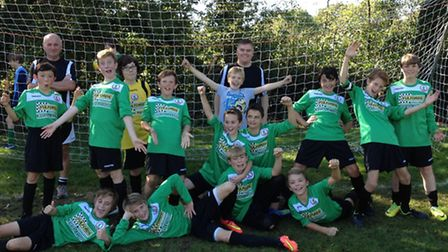 Sidmouth Raiders who play in the Exeter and District Youth League Under-13 Division Three
