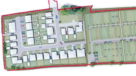 Plans for an extension to the Butts Road development have been submitted to the district council