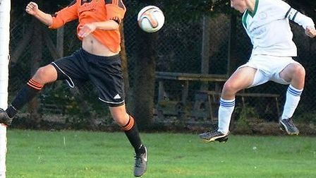 Sidmouth Town Under-16 player Jamie Newberry