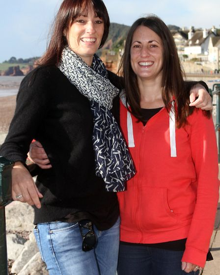 Emma Wilson and Amy Clapp are running the London marathon and raising funds for Help the Hospices. R